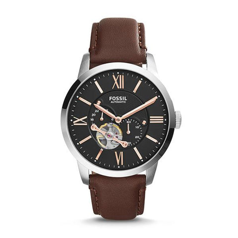 Fossil Men's Townsman Automatic Leather Watch ME3061