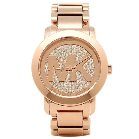 Michael Kors Ladies' Crystal Pave Dial Watch MK3394