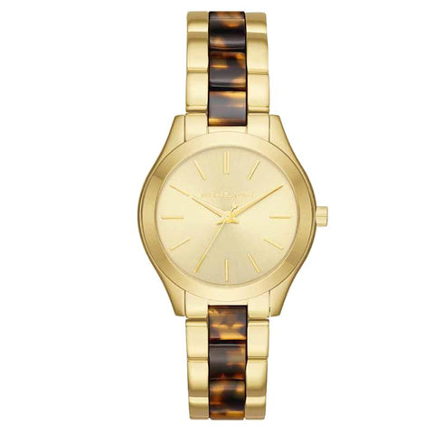 Michael Kors Ladies' Mini Slim Runway Multi Color Stainless Steel Bracelet Watch MK3710