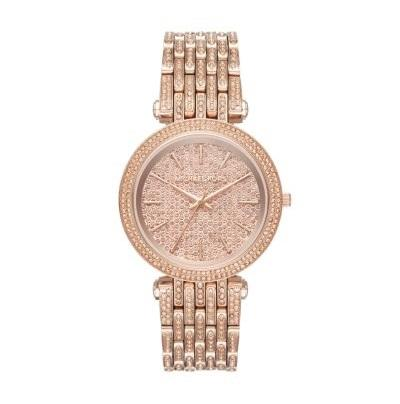 Michael Kors Ladies' Darci Rose Gold Tone Watch MK3780