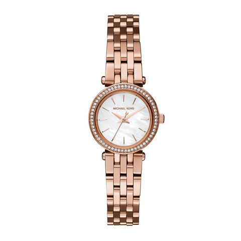 Michael Kors Ladies' Darci Rose Gold Tone Stainless Steel Watch MK3832