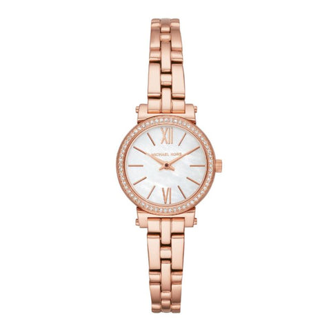 Michael Kors Ladies' Sofie Rose Gold-Tone Watch MK3834