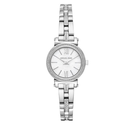 a487ecc214d4 Michael Kors Ladies  Sofie Crystal Mother of Pearl Dial Watch MK3906