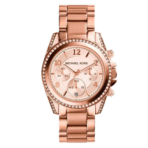 Michael Kors Ladies' Blair Chronograph Watch MK5263