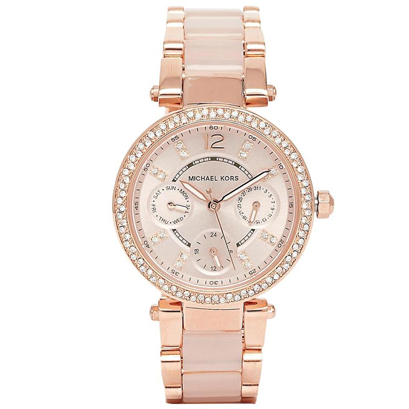 ed2e6351e Michael Kors Ladies' Parker Ceramic Watch MK6110 | Watchspree