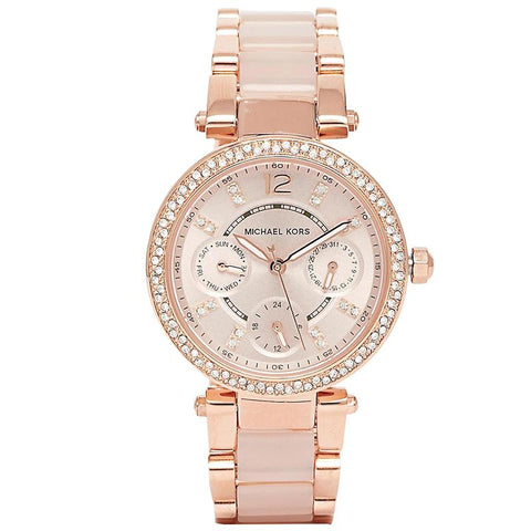 Michael Kors Ladies' Parker Ceramic Watch MK6110