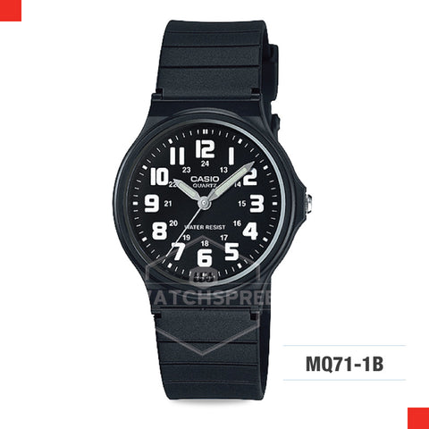 Casio Watch MQ71-1B