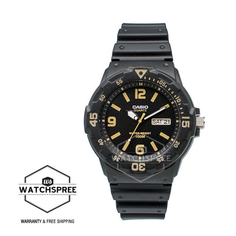 Casio Standard Analog-Men's Resin Strap Watch MRW200H-1B3