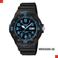 Load image into Gallery viewer, Casio Watch MRW200H-2B