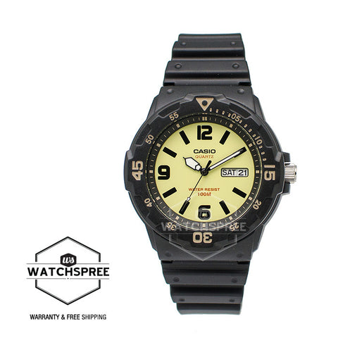 Casio Standard Analog-Men's Resin Strap Watch MRW200H-5B