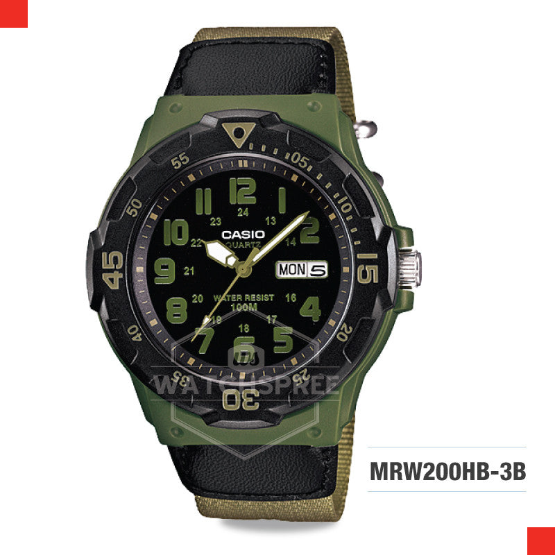 Casio Watch MRW200HB-3B