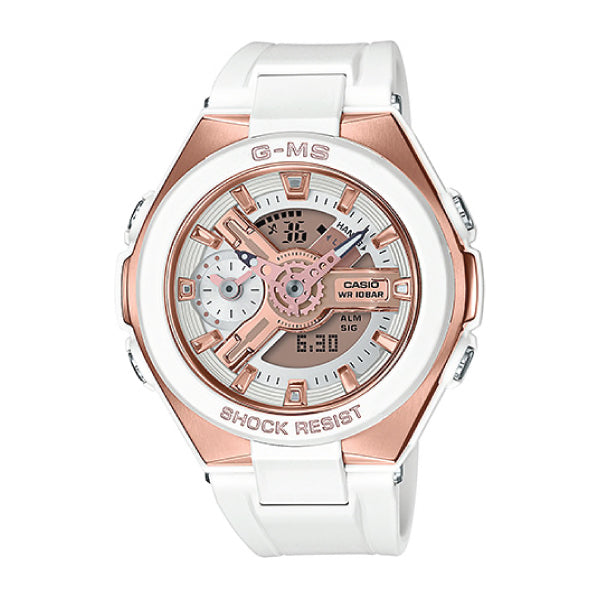 194e90768d25 Casio Baby-G G-MS Lineup White Resin Band Watch MSG400G-7A MSG