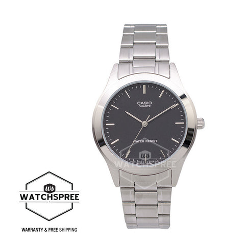 Casio Standard Men's Analog Stainless Steel Band Watch MTP1128A-1A