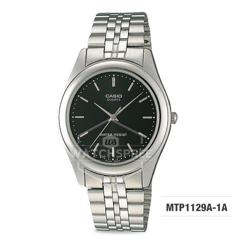 Casio Enticer Series Men's Stainless Steel Watch MTP1129A-1A