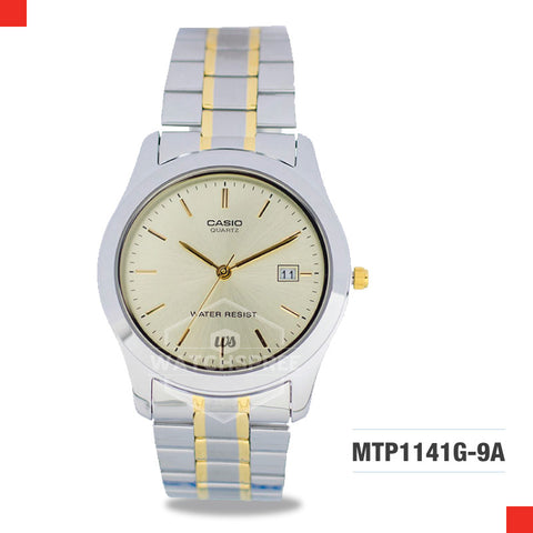Casio Men's Watch MTP1141G-9A