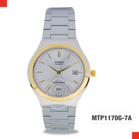 Casio Men's Watch MTP1170G-7A