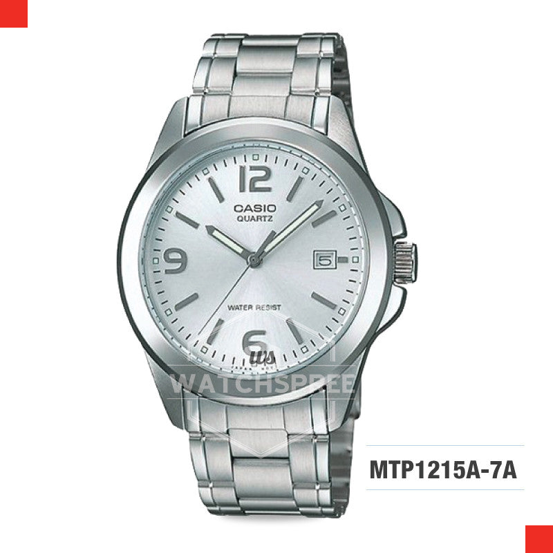 Casio Men's Watch MTP1215A-7A