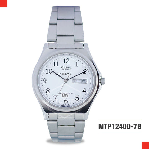 Casio Men's Watch MTP1240D-7B