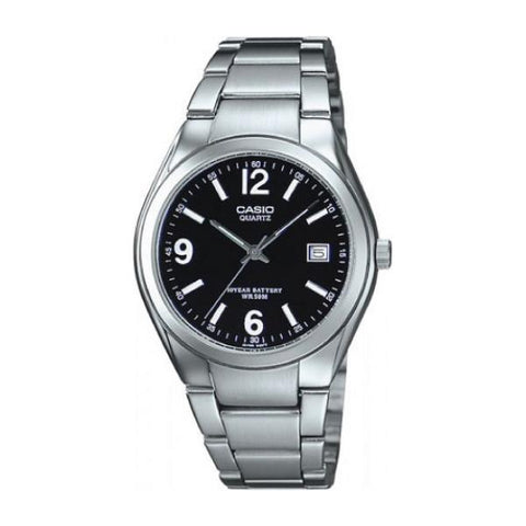 Casio Men's Standard Analog Silver Stainless Steel Band Watch MTP1265D-1A MTP-1265D-1A