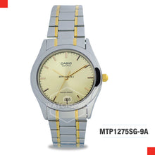 Load image into Gallery viewer, Casio Men's Watch MTP1275SG-9A