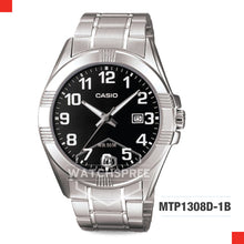 Load image into Gallery viewer, Casio Men's Watch MTP1308D-1B