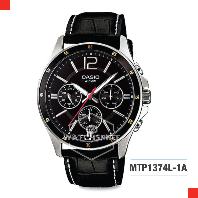 Casio Men's Watch MTP1374L-1A