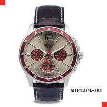 Load image into Gallery viewer, Casio Men's Watch MTP1374L-7A1
