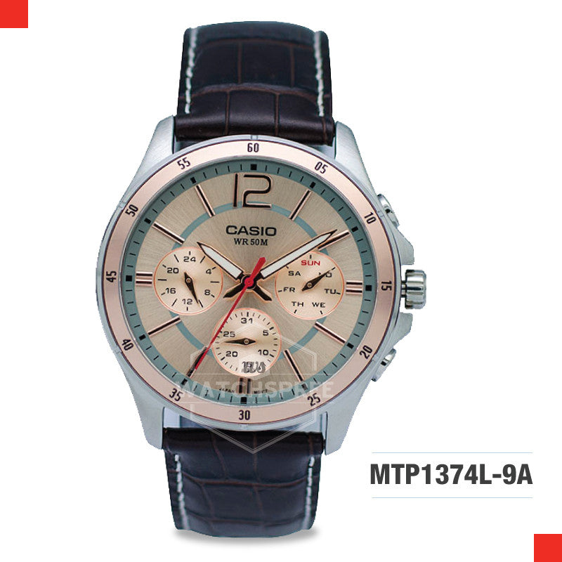 Casio Men's Watch MTP1374L-9A
