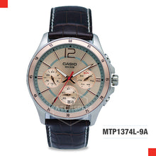 Load image into Gallery viewer, Casio Men's Watch MTP1374L-9A