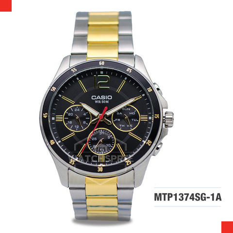 Casio Men's Watch MTP1374SG-1A