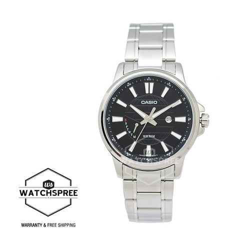 Casio Standard Analog Stainless Steel Watch MTPE137D-1A