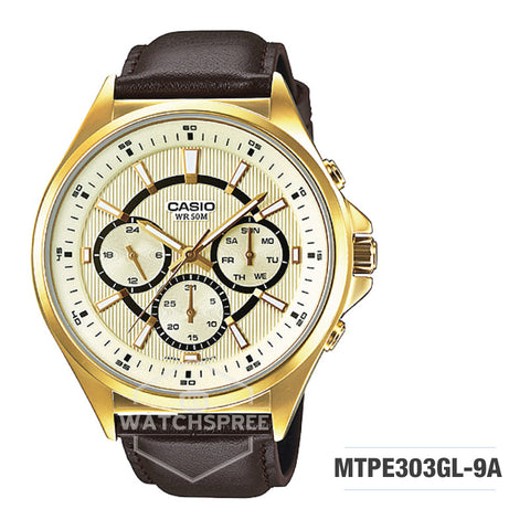Casio Men's Watch MTPE303GL-9A