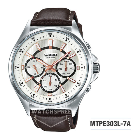 Casio Men's Watch MTPE303L-7A