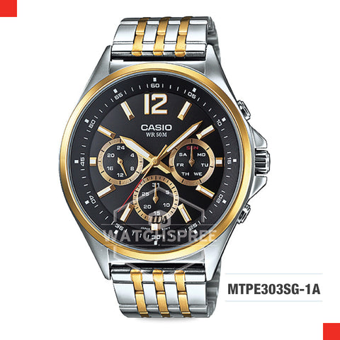 Casio Men's Watch MTPE303SG-1A