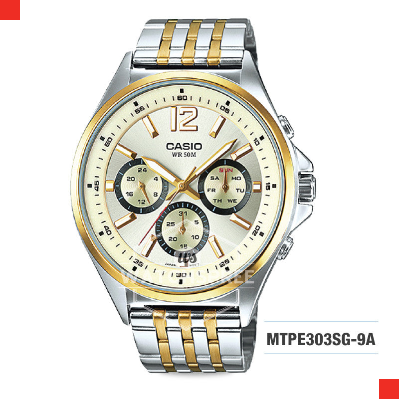 Casio Men's Watch MTPE303SG-9A