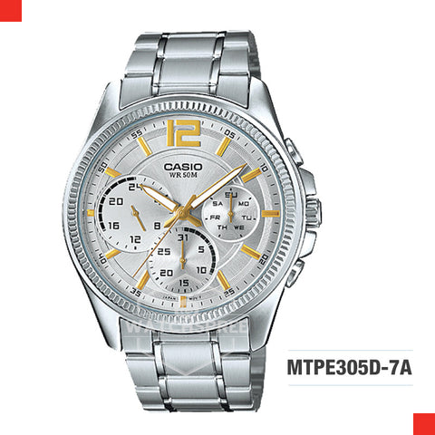 Casio Men's Watch MTPE305D-7A