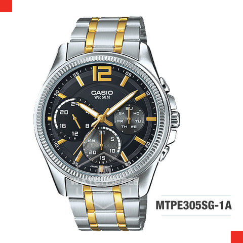 Casio Men's Watch MTPE305SG-1A