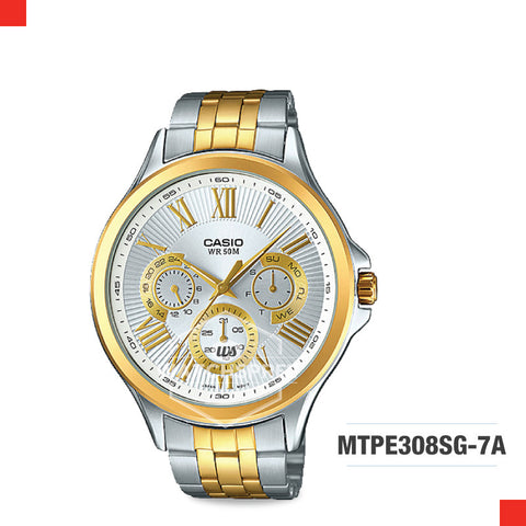 Casio Men's Watch MTPE308SG-7A