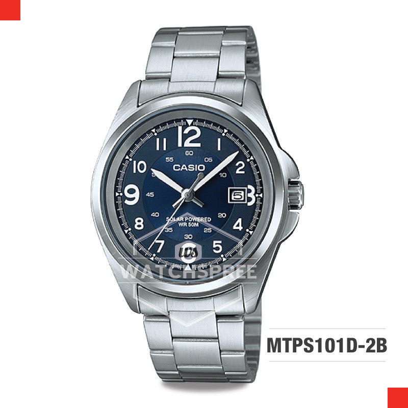 Casio Men's Watch MTPS101D-2B
