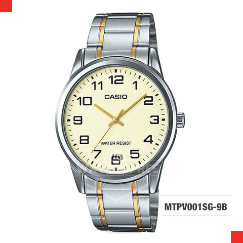 Casio Men's Watch MTPV001SG-9B