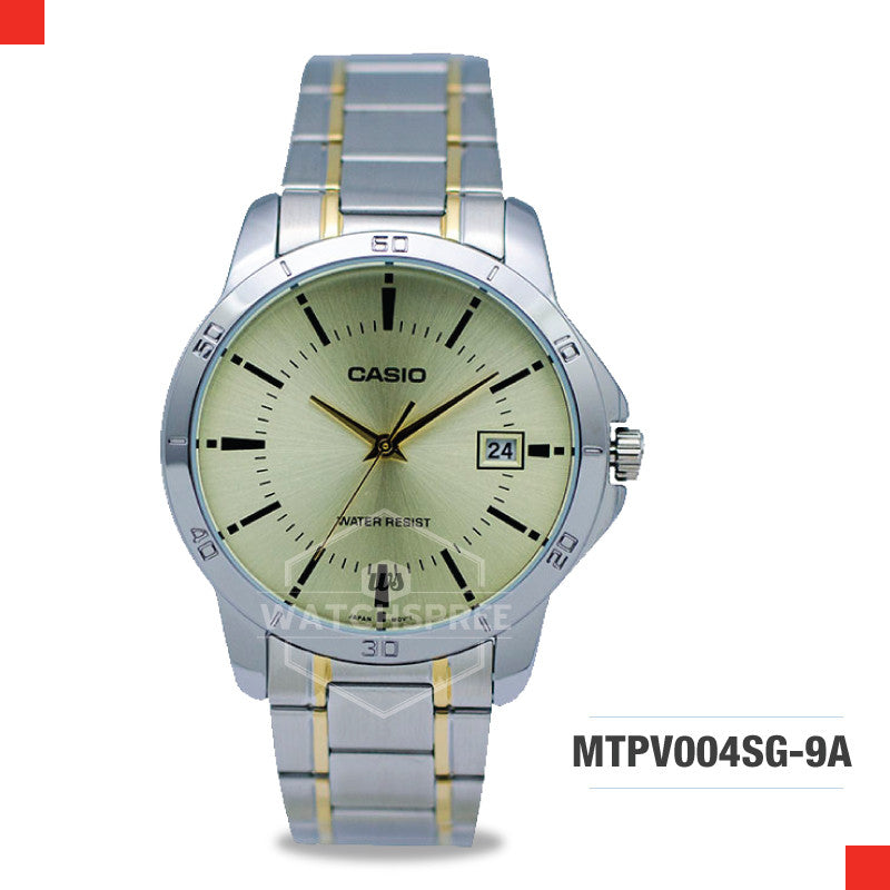 Casio Men's Watch MTPV004SG-9A