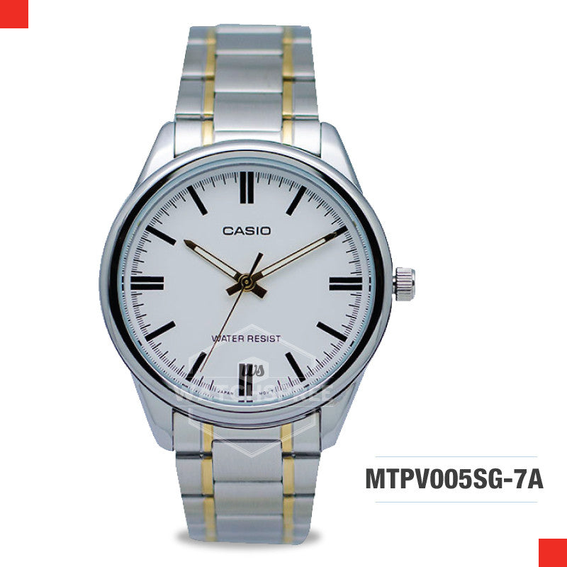 Casio Men's Watch MTPV005SG-7A