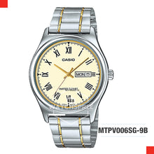 Load image into Gallery viewer, Casio Men's Watch MTPV006SG-9B