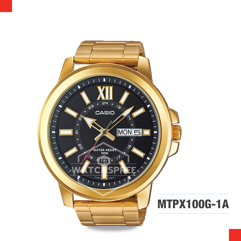 Casio Men's Watch MTPX100G-1A