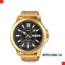 Load image into Gallery viewer, Casio Men's Watch MTPX100G-1A