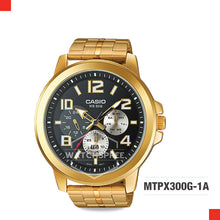 Load image into Gallery viewer, Casio Men's Watch MTPX300G-1A