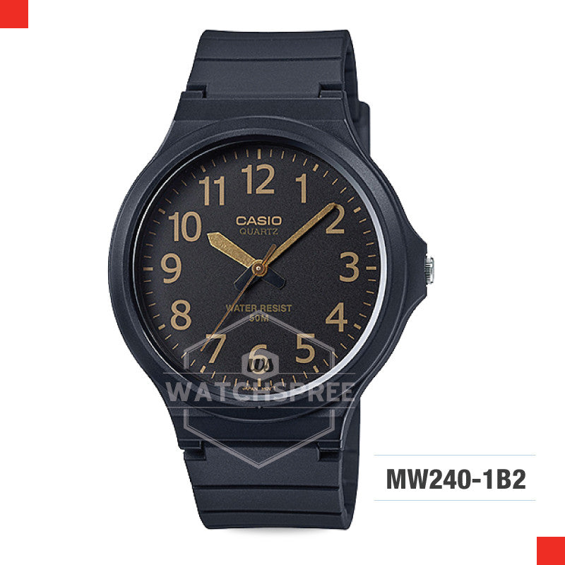 Casio Watch MW240-1B2