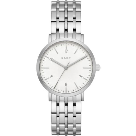 DKNY Minetta Silver Dial 36 mm Ladies Watch NY2502