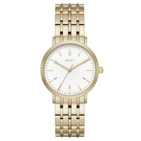 DKNY Minetta White Dial 36 mm Ladies Watch NY2503