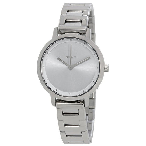 DKNY The Modernist Silver Dial Stainless Steel 32 mm Ladies Watch NY2635